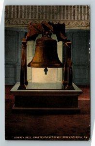 Philadelphia PA-Pennsylvania, Independence Hall, Bell, Vintage c1915 Postcard