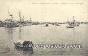 Saigon, Escadre en Riviere de Saigon Cochinchine Vietnam, Viet Nam Unused