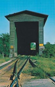 Swanton VT, Vermont - Wooden Railroad Covered Bridge