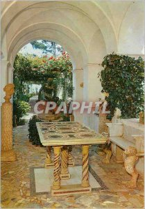Postcard Modern Villa Anacapri its n Michelle Hermes and Byzantine table