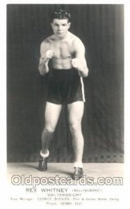 Rex Whitney Boxing Unused