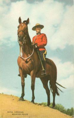 Canada, Royal Canadian Mounted Police, unused Postcard
