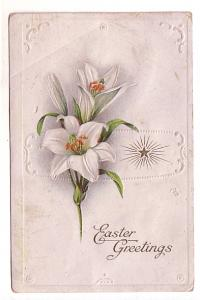 Embossed, Lily, Easter