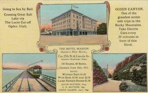 OGDEN , Utah, 1900-1910's; 3-views