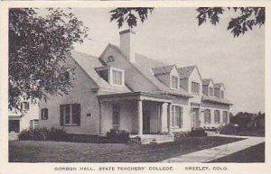 Colorado Greeley Gordon Hall State Teachers College Albertype