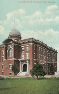 STRATFORD , Ontario , 1910 ; Normal School