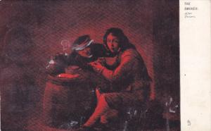 TUCK #914, The Smoker After Teniers, Rembrandesque, 1900-1910s