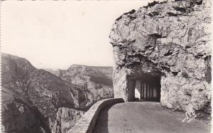France Verdun Corniche Sublime Le Tunnel 1955