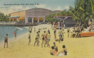 SAN JUAN , Porto Rico, 1930-40s ; Escambron Club