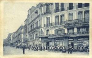 Oran Algeria, Africa, Boulevard Clemenceau  Boulevard Clemenceau