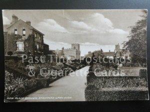 Stratford upon Avon: New Place Garden RP c1944