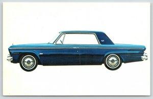1964 Studebaker~Midnight Blue 1964 Daytona Two-Door Sedan~Car Dealer Advertising