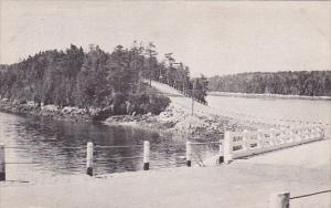 Looking Onto Orr's Island Maine 1938