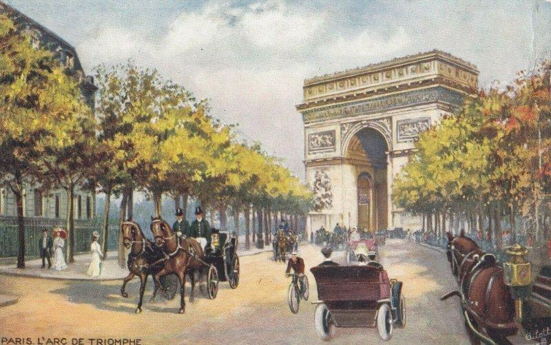 PARIS, France, 1900-10s; L'Arc De Triomphe ; TUCK 934 P No 23