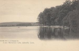 LAKEVILLE , Connecticut, 1901-07 ; Wononsco Lake