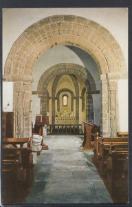 Herefordshire Postcard- Chancel Arch & Sanctuary,SS David and Mary,Kilpeck HM275