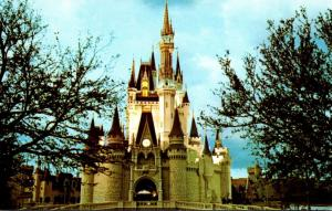 Florida Walt Disney World Fantasy Land Cinderella Castle
