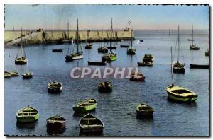 Postcard Modern Noirmoutier L & # 39Herbaudiere The harbor Boats
