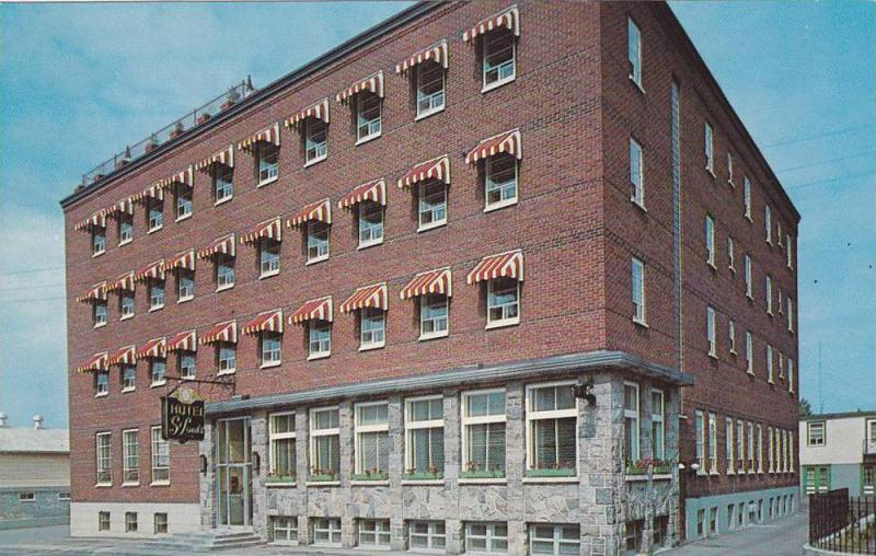 Exterior, Hotel St. Louis, Rimouski, Quebec, Canada,  40-60s