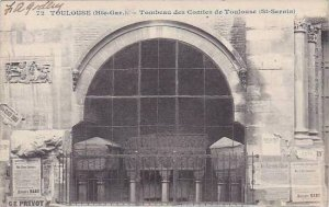 France Toulouse Tombeau des Comtes de Toulouse St Sernin