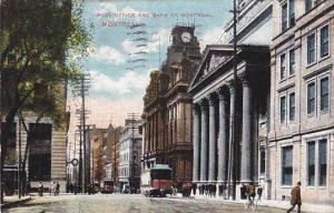 Post Office and Bank of Montreal, Montreal, Canada, PU-1907