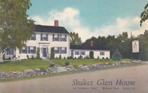 Massachusetts Woburn Shaker Glen House