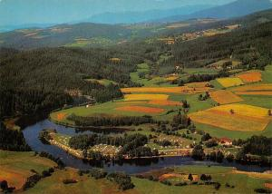 Pirka Bayerischer Wald Campingplatz Hoellensteinsee River Aerial view