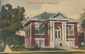 WATFORD , Ontario , 1900-10s ; Carnegie Public Library