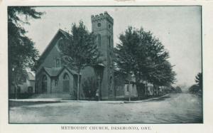 DESERONTO, Ontario , 1900-10s ; Methodist Church