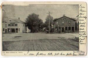 Main & Broad Sts, Morris NY