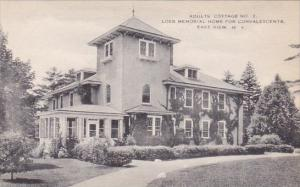 New York East View Adults Cottage No 2 Loeb Memorial Home For Convalescents A...