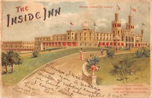 St Louis Missouri Inside Inn Koehler Hold To Light Antique Postcard K99650