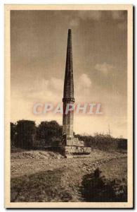 Old Postcard Figeac Lo guyo del pings (the & # 39aiguille of lashes)