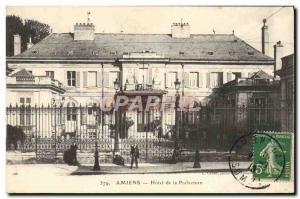 Old Postcard Amiens Hotel de la Prefecture