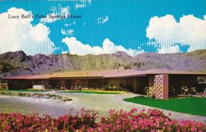 California Palm Springs Lucille Ball's Home