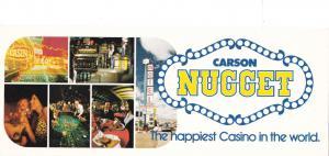 CARSON CITY, Nevada, 50-60s ; Carson Nugget, The Happiest Casino in the World