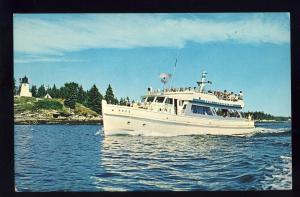 Boothbay Harbor, Maine/ME Postcard, Excursion Boat Argo