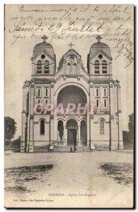 Soissons Old Postcard Eglise Ste Eugenie