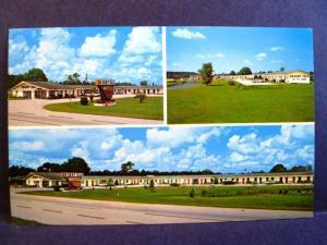 Postcard FL Lawtey Desert isle Motel