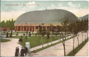 Mormon Tabernacle Salt Lake City Utah in 1907 Vintage Postcard by Calaway, Hook