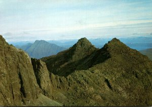 Scotland Isle Of Skye The Cuillins Looking Over To Sgurr Dubh Mor From Sgurr ...