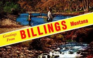 Montana Greetings From Billings