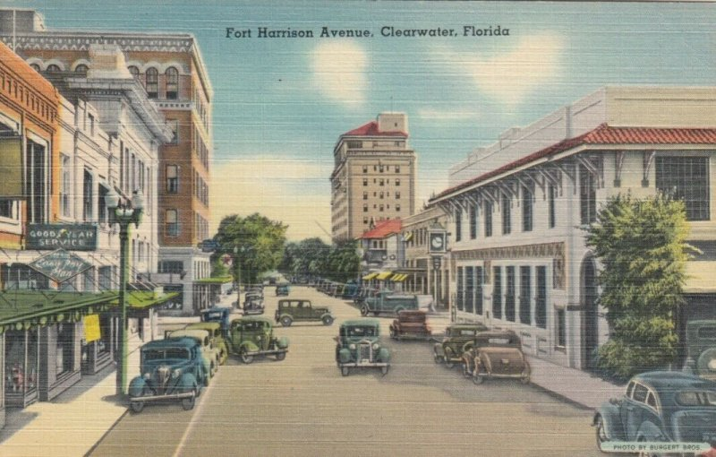CLEARWATER , Florida , 30-40s ; Fort Harrison Avenue