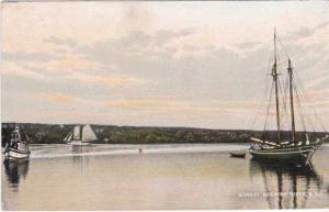 Sunset on Nuamithi River NS, Nova Scotia, Canada - pm 1909 - DB