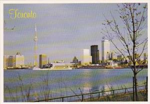 Canada This Tranquil View Is Enjoyed By Early Morning Strollers And Joggers B...