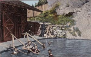 BANFF, Alberta, Canada, 1900-1910s; Cave And Nasin, Swimming Pool