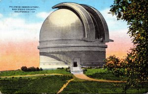 California San Diego County Palomar Observatory
