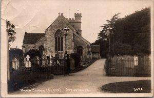 St Cyr Parish Church Stonechovse UK graveyard Cemetery