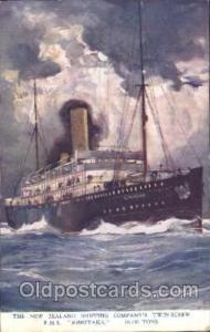 R.M.S. Rimutaka Steamer Ship Ships Postcard Postcards  R.M.S. Rimutaka