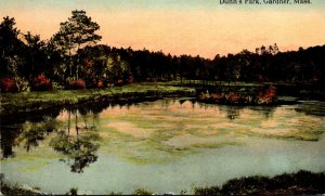 Massachusetts Gardner Dunn's Park Curteich